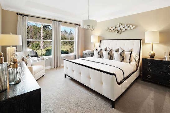 Haven-Design-Works-Tampa-CalAtlantic-Enclave-at-Meadow-Pointe-Owners-Bedroom-upholstered-bed