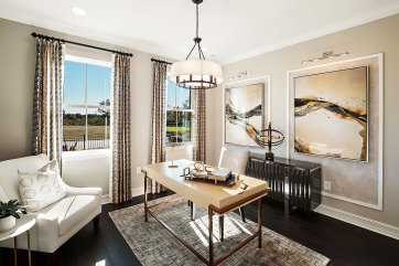 Haven-Design-Works-Tampa-CalAtlantic-Enclave--at-Meadow-Pointe-Study-Black-and-white