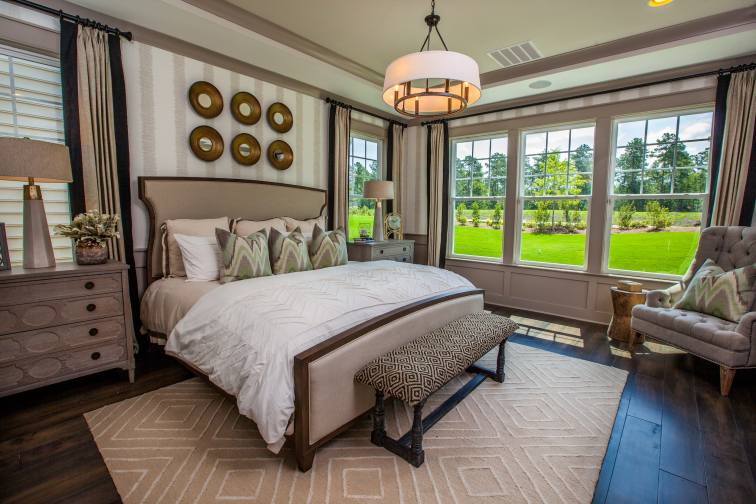 Haven-design-works-Atlanta-K.Hovnanian-Charleston-Marseilles-model-home-Master Bedroom-min