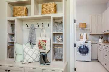 Haven-design-works-Atlanta-K.Hovnanian-Charleston-Mont Blanc-model-home-Drop Zone-min