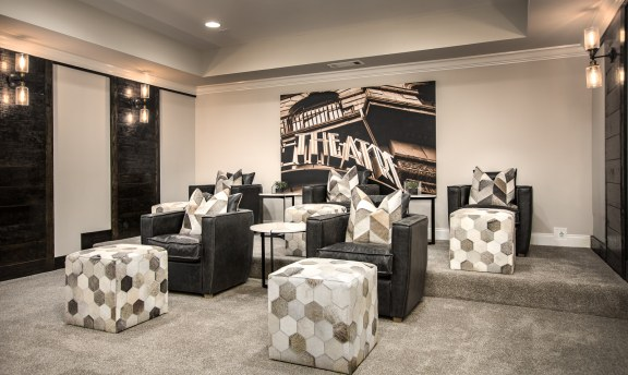 Haven-design-works-Atlanta-CalAtlantic-Atlanta-Briarstone at Nesbit Lakes-model-home-Home Theater