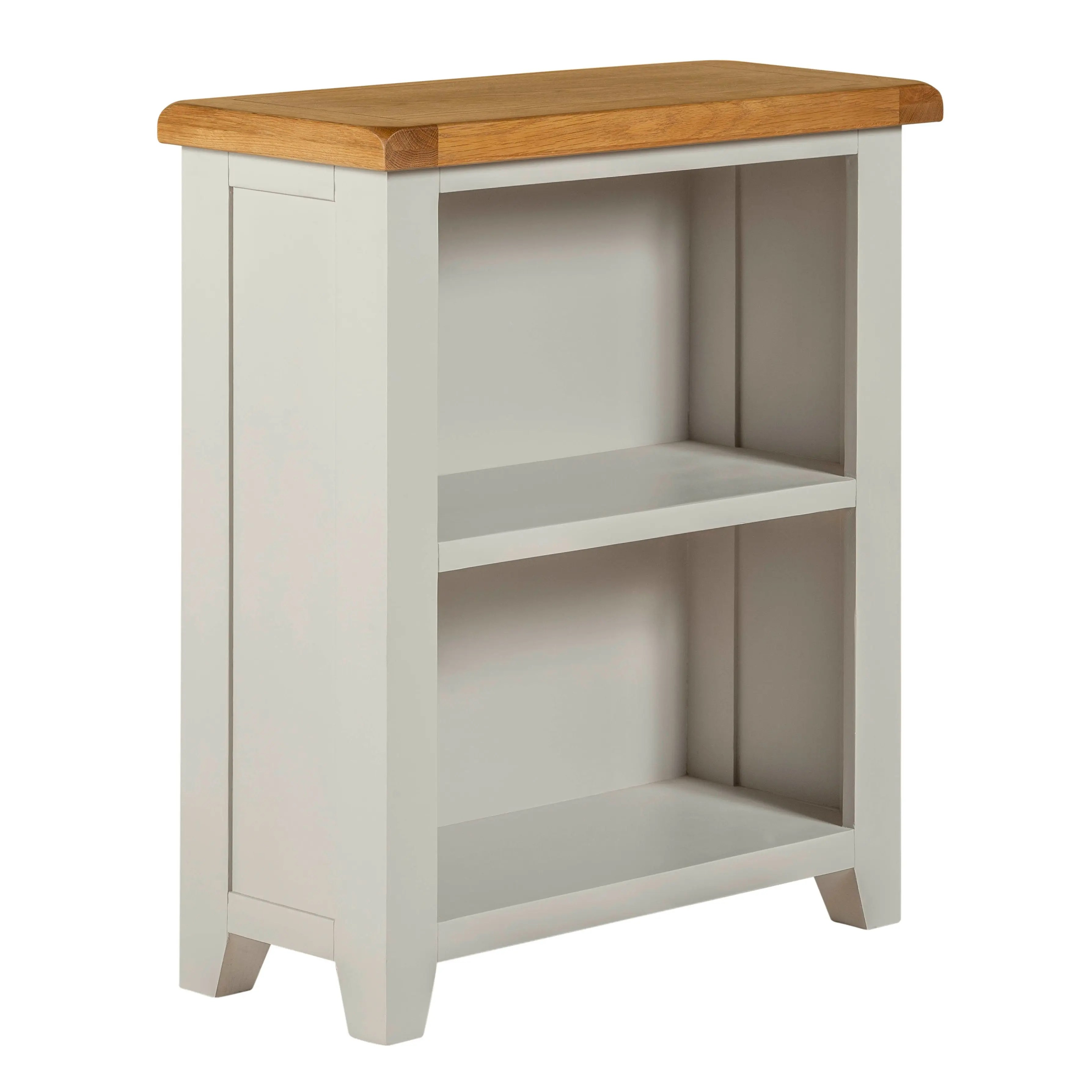 Willow Grey Low Bookcase