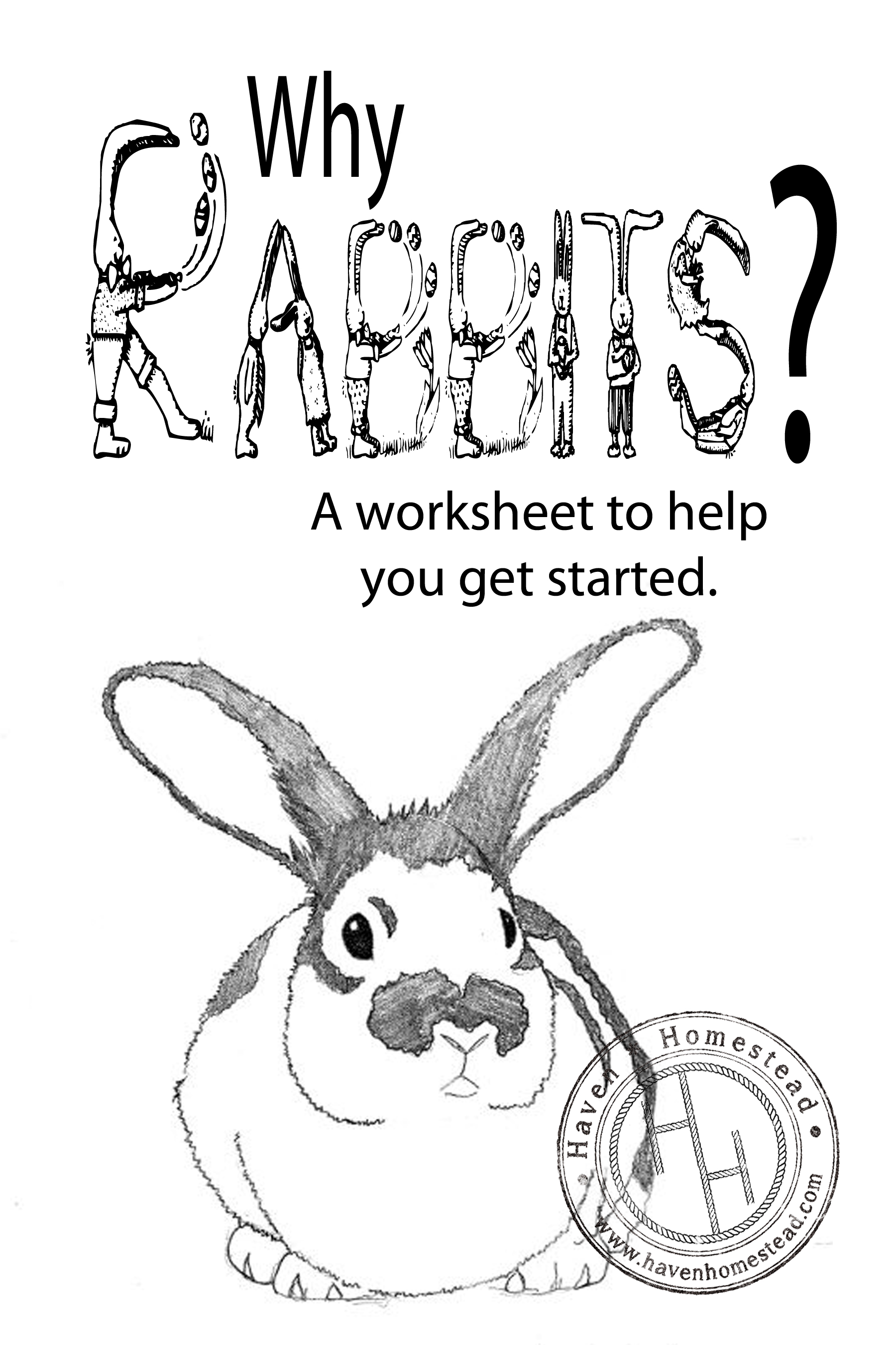 Why Rabbits Free Worksheet