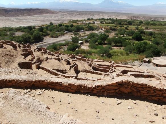 Pukara de Quitor is a stone fort built by the atacameño people in the 12th century near San Pedro de Atacama, Chile.