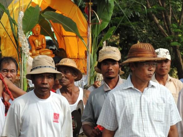 Men take the katina parade seriously. Lashio, Myanmar.