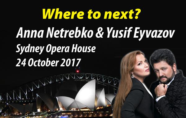Anna Netrebko at the Sydney Opera House