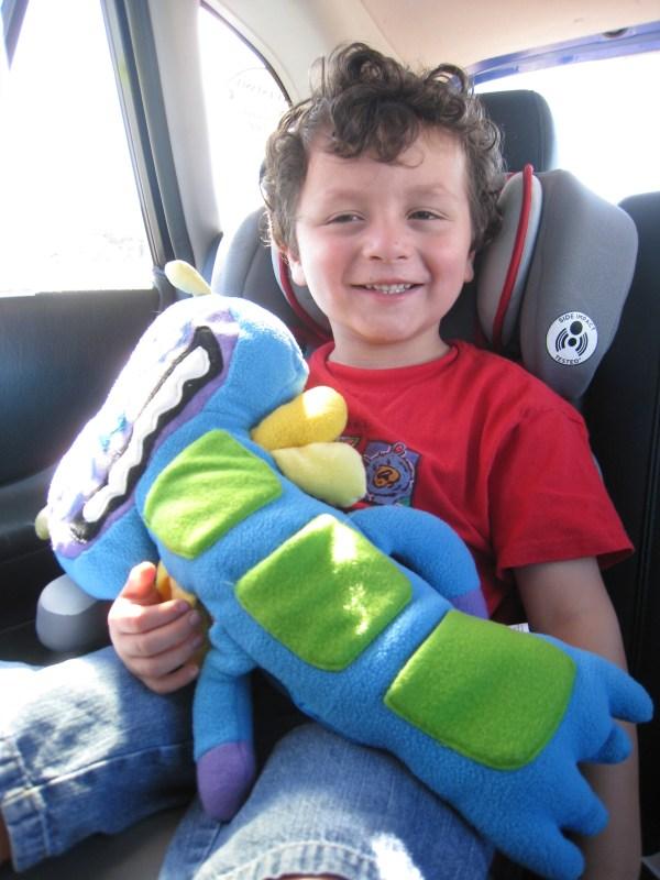 Seat Belt Stuffed Animal