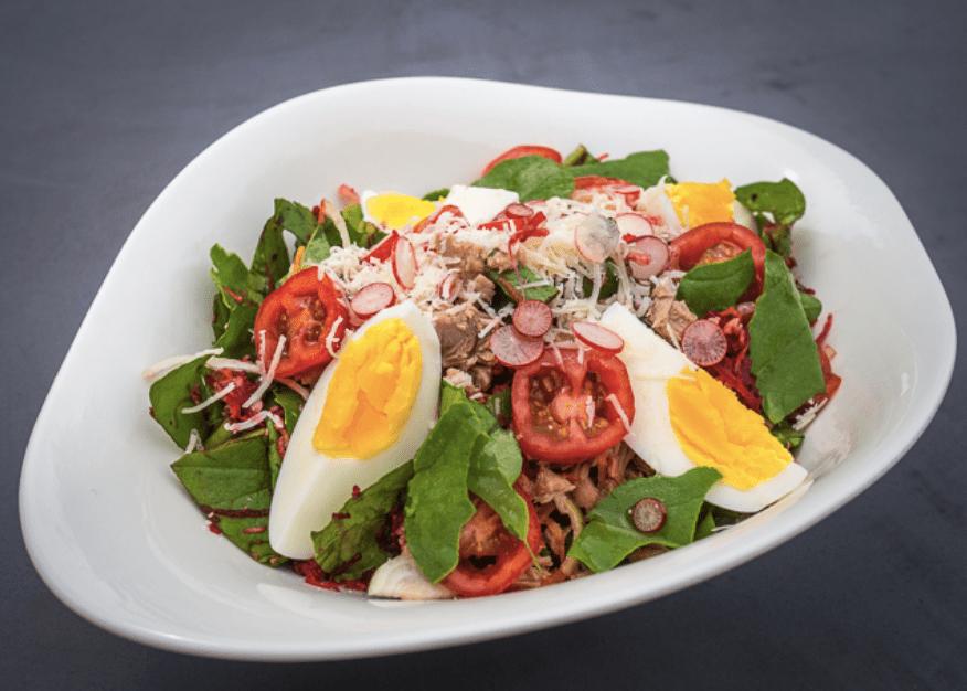 Rucola-salat med tun