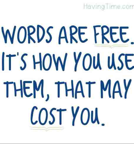 words are free