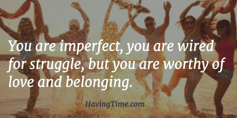 belonging quote