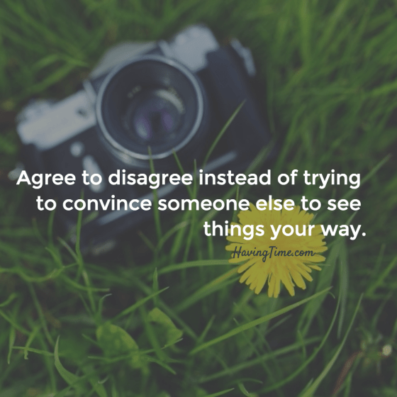 agree to disagree meaning