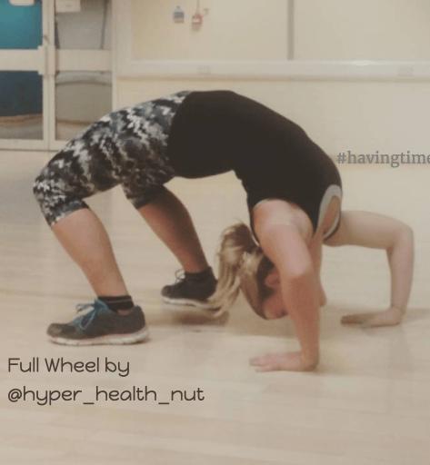 full wheel yoga