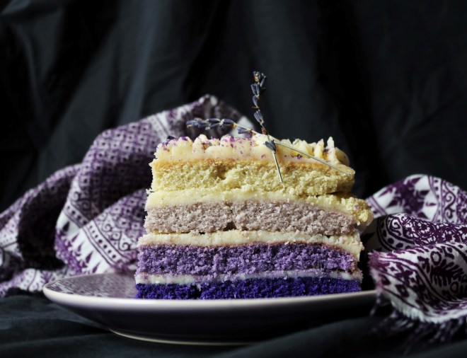 Lavender Layer Cake|Havocinthekitchen.com