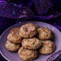 Lavender Cinnamon Snickerdoodle Cookies