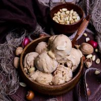 Dulce de Leche Peanut Butter Ice Cream