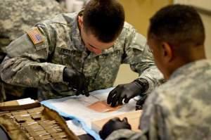 live tissue training army