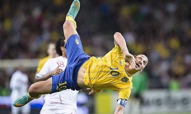 Zlatan….out King, hero and Captain