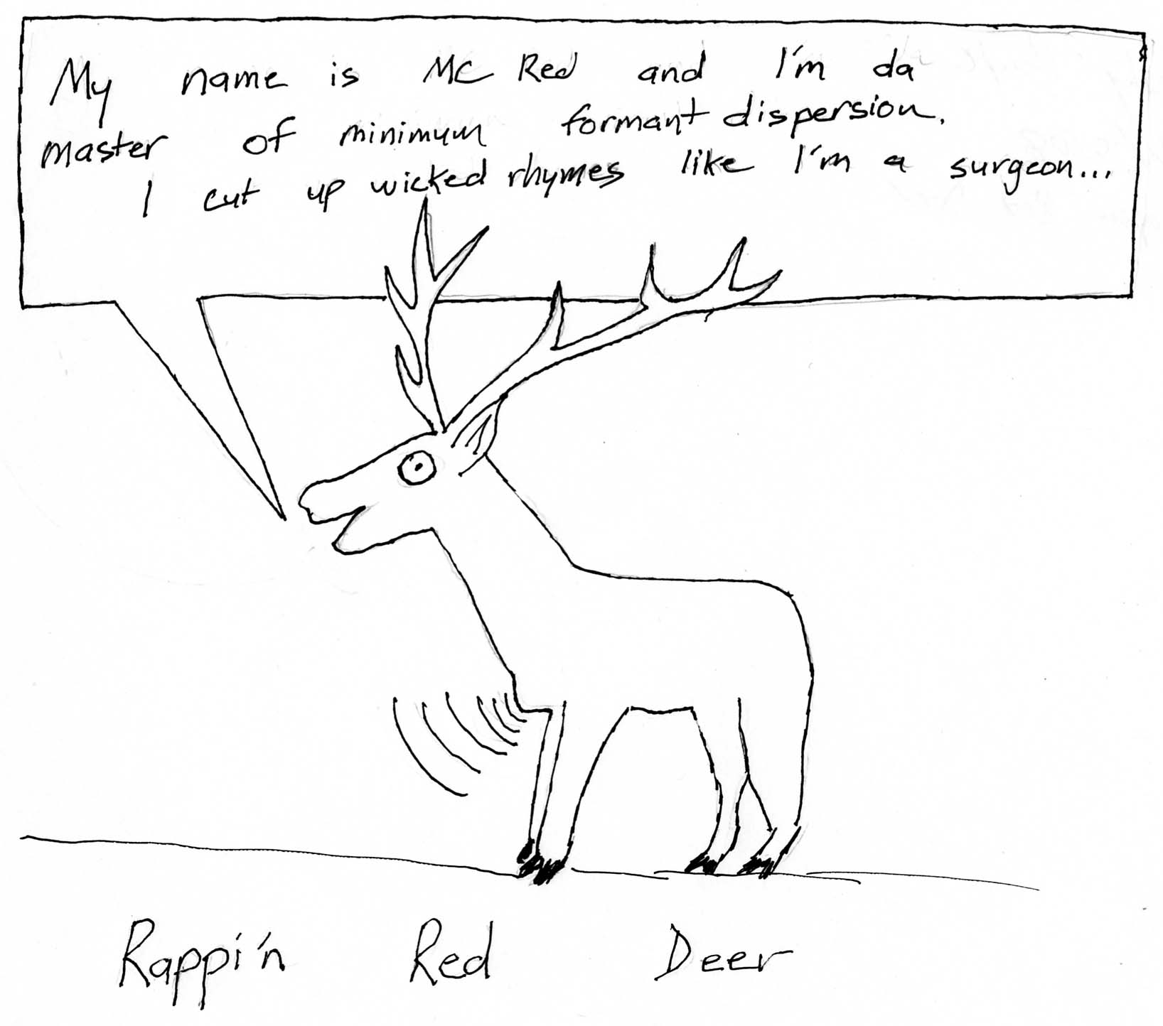 hight resolution of rappin red deer
