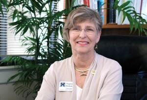Headshot of Virginia Hinshaw