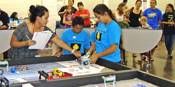 Robotics Tournament Staged By Manoa Program