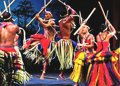 Performers from Yap