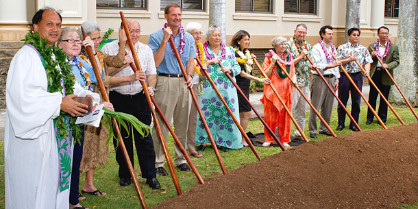 Groundbreaking Ceremony Held For Gartley Hall