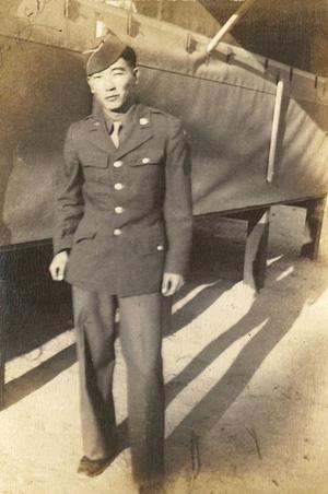 Urabe in uniform