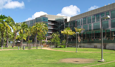 UH Cancer Center building