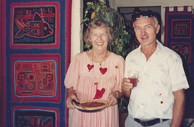 Victor and Margaret Pavel