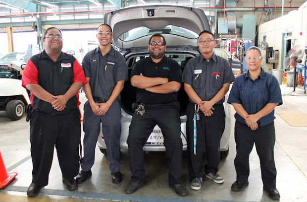 Automotive Technology program at Honolulu Community College