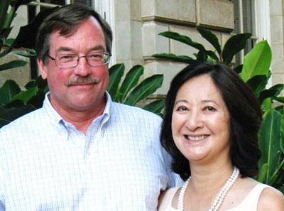 Carol Mon Lee and Jerry Bentley