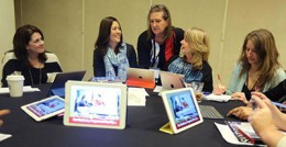 Billie Takaki Lueder, Kathleen Cabral and Bonnie Beatson presented a roundtable session at the NCMPR conference.