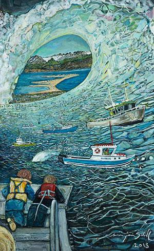 """Tsunami"" by Marjorie Scholl"