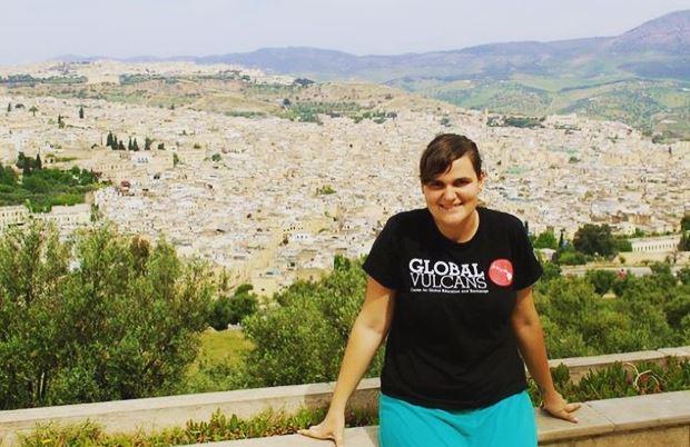 Raelyn Eckert in Morocco