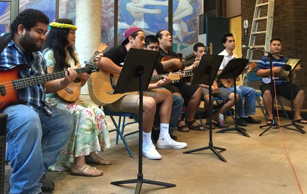 Hawaiian ensemble at Leeward CC