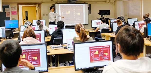 Manoa student classroom
