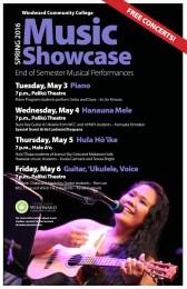 Windward music showcase flyer