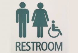 Signage for all-gender restroom