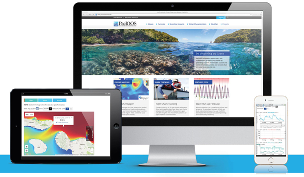 New PacIOOS Website Provides Ocean Information, Data And Services