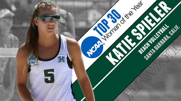 Former UH Beach Volleyball Player Spieler Named Semifinalist For NCAA Award