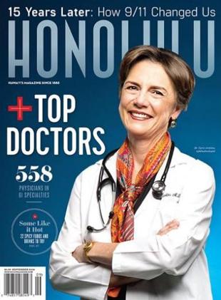 Honolulu magazine cover, Top Doctors