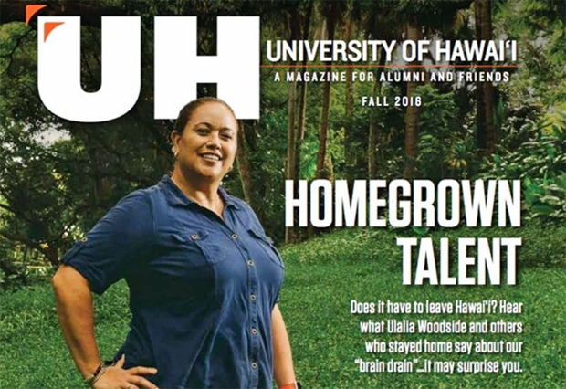 Homegrown Talent Featured In UH Magazine