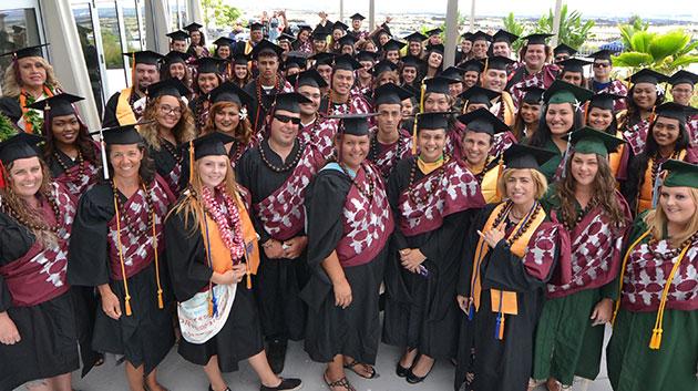 Hawaii Community College graduation