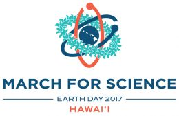 March for Science illustration, Earth day 2017, Hawaii