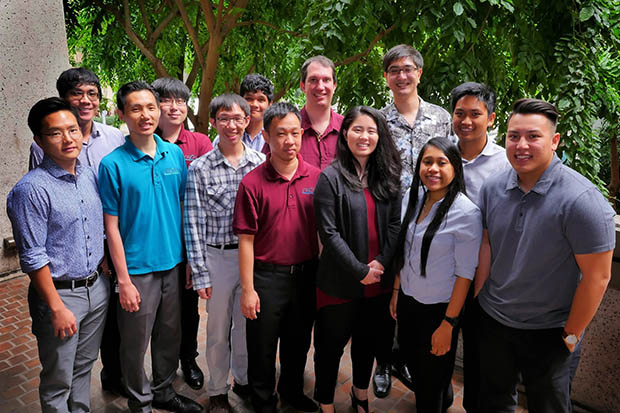 Group of interns and graduates