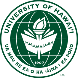 UH seal in Manoa green