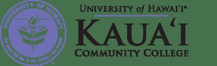 Kauai Community College seal and nameplate