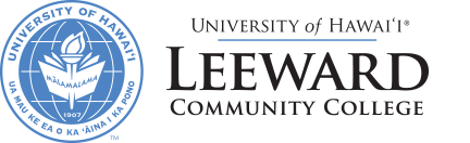 Leeward Community College and nameplate