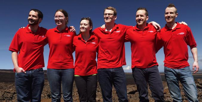 'Astronauts' Conclude Mauna Loa Mars Mission
