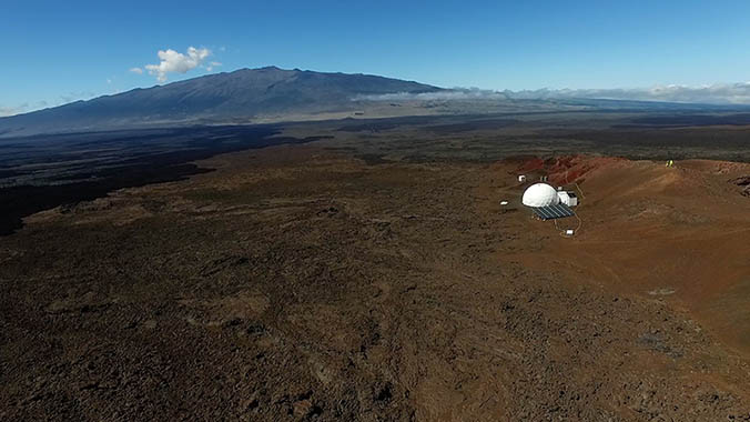 Mars Simulation Crew Readying To Exit Mauna Loa Habitat